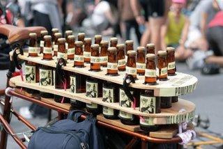 Awesome Beer Bike Rack