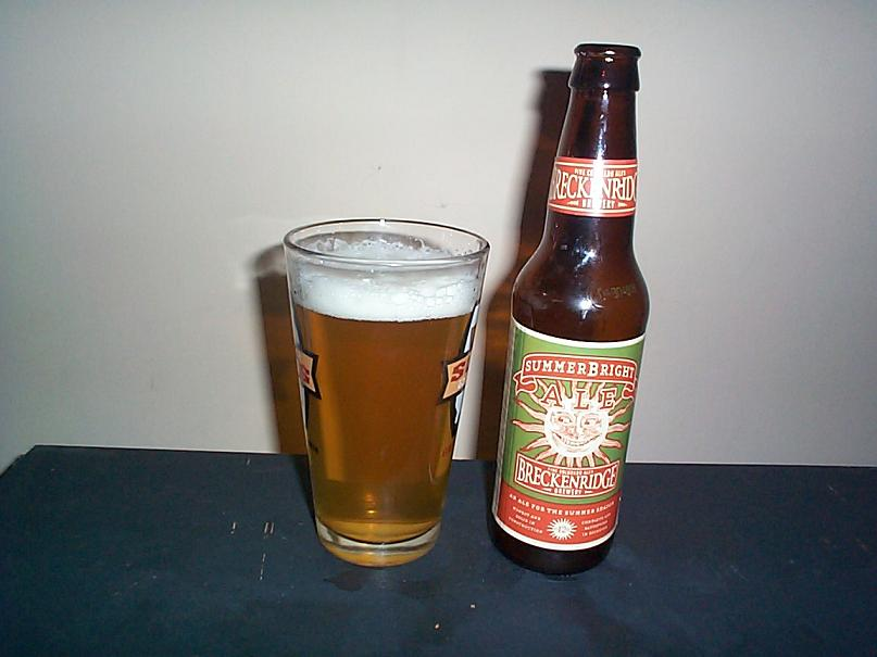 Breckenridge Summer Bright Ale