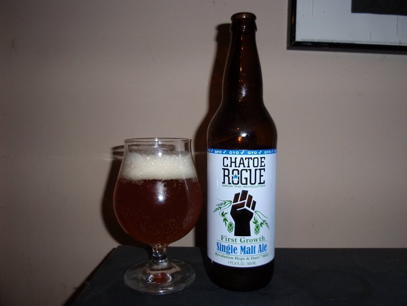 Chatoe Rogue Single Malt Ale