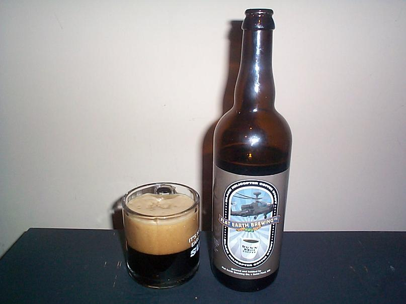 Flat Earth Black Helicopter Coffee Stout