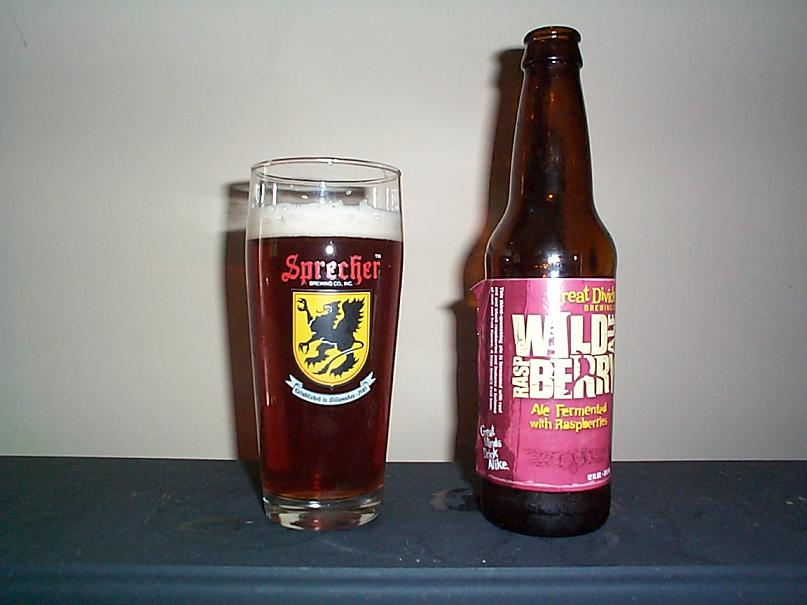 Great Divide Wild Raspberry Ale