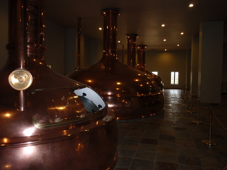 Brewing Kettles at New Glarus