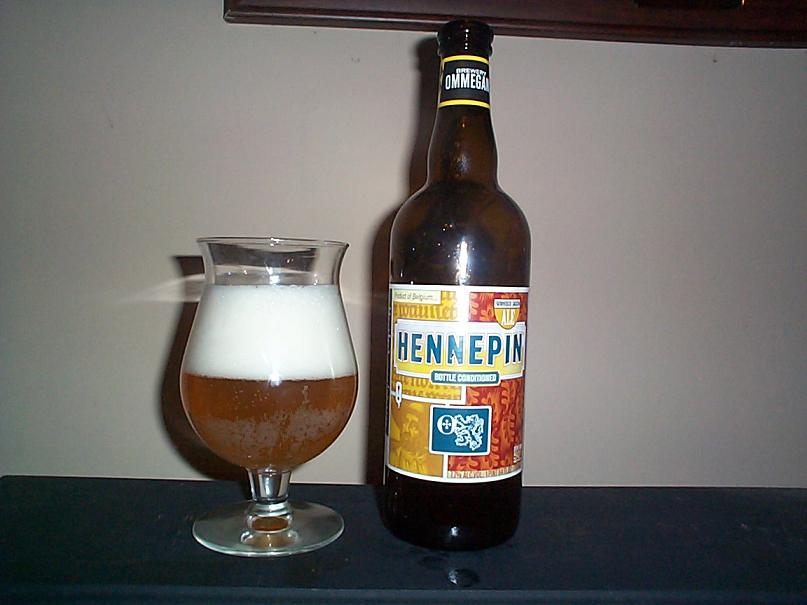 Ommegang Hennepin Pour One