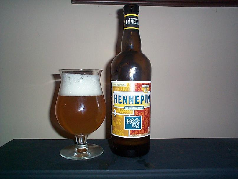 Ommegang Hennepin Pour Two