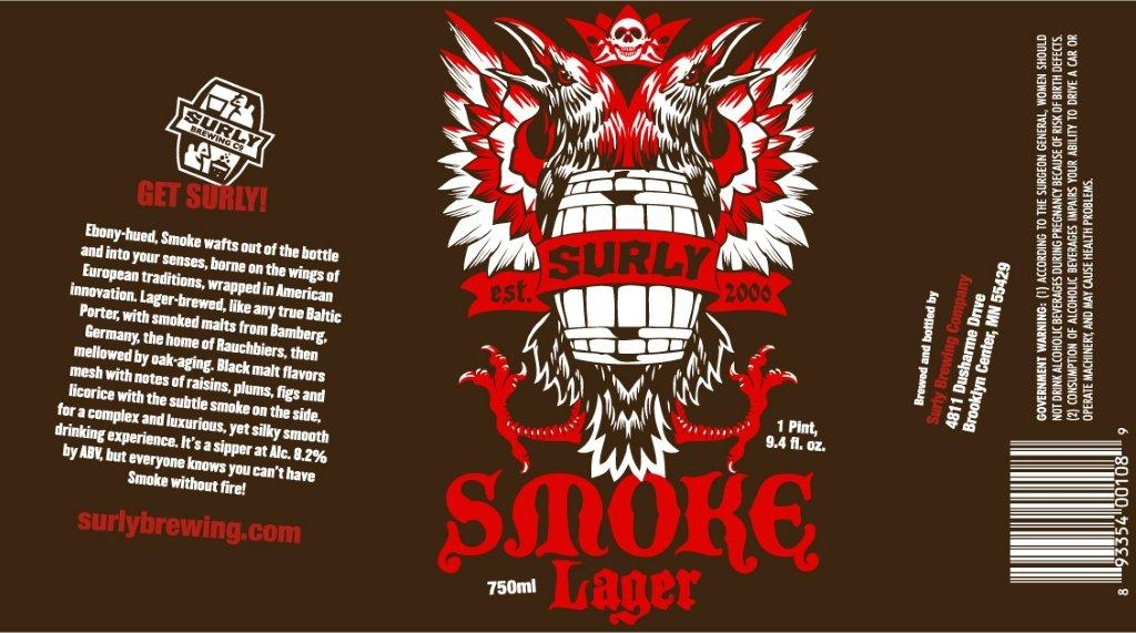 Surly Smoke Label